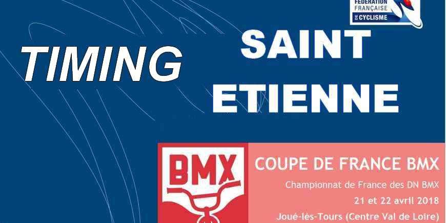 COUPE DE FRANCE: TIMING SAINT ETIENNE