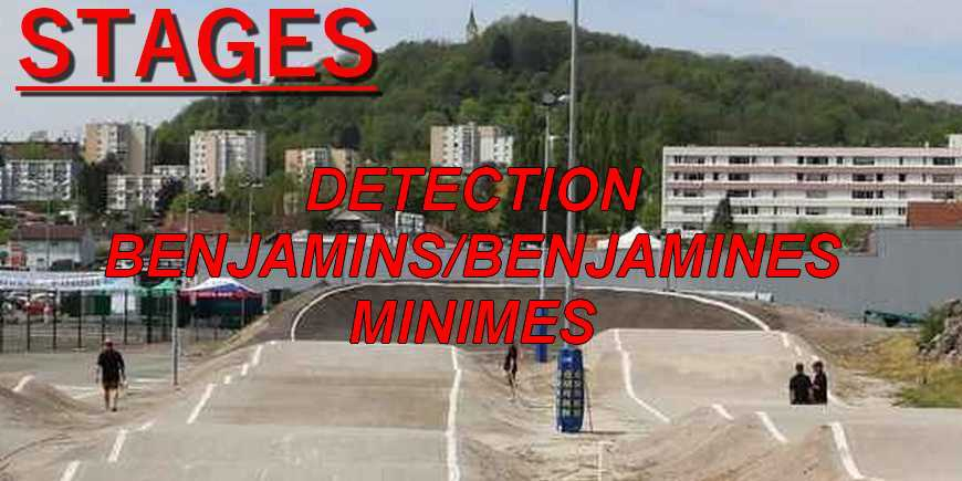 Stage détection Benjamin/Benjamines/Minimes