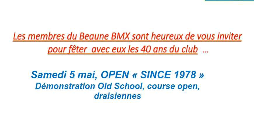 Timing de l'open de Beaune