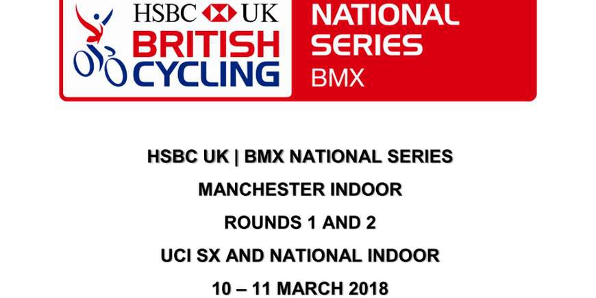 HSBC UK BMX National Series de Manchester