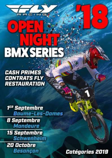 BAUME LES DAMES - OPEN NIGHT FLY - Liste des engagés