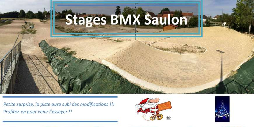 Stages BMX à Saulon