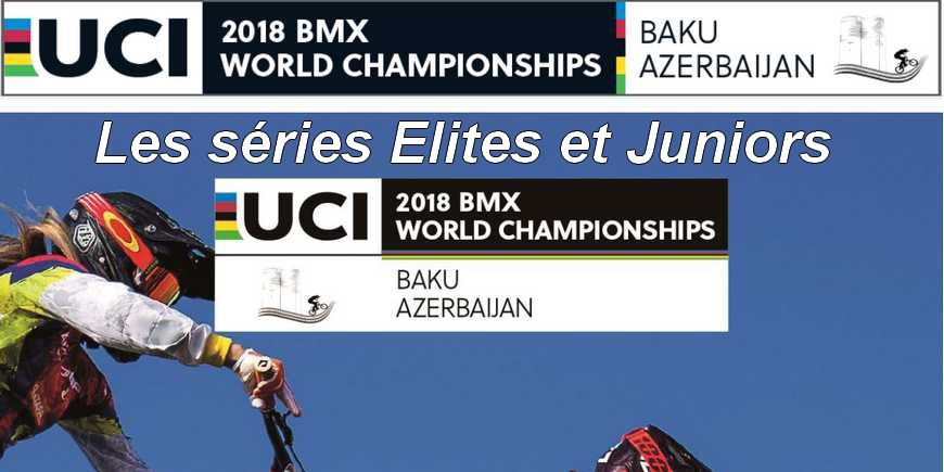 Baku La composition des séries Elites et Juniors (Mens and womens)