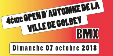 GOLBEY - Open d'automne