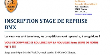 Stage à Etupes