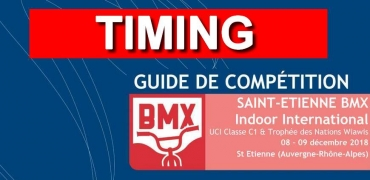 INDOOR DE SAINT ETIENNE: Timing