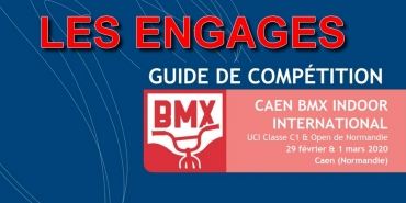 INDOOR DE CAEN 2020 - LES ENGAGES