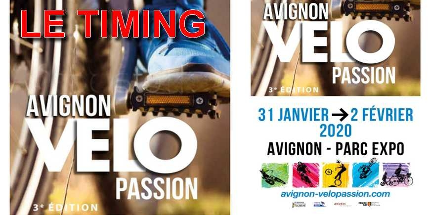 INDOOR D'AVIGNON - LE TIMING