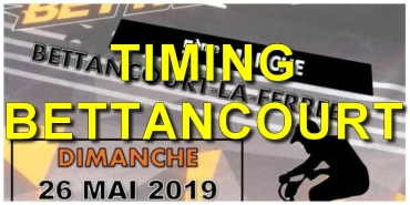 BETTANCOURT - Le Timing